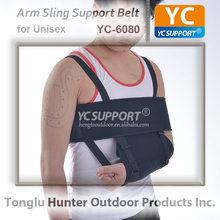 Black arm sling fracture support