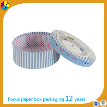 decorative round cardboard boxes with lids