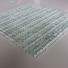 10 * 10 Rainbow Color Crystal Glass Mosaic Tiles
