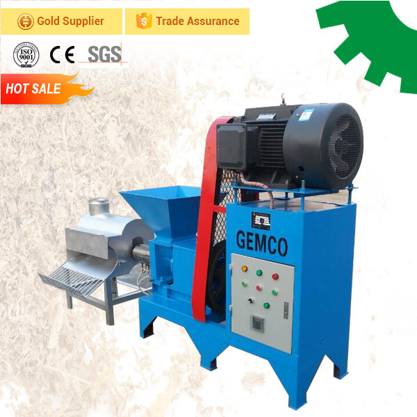 Factory price olive cardboard olive pomace briquetting machines