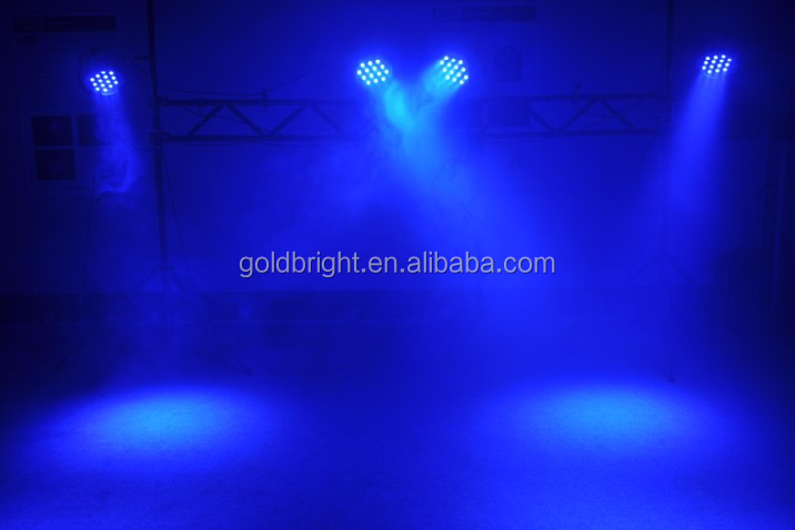 Indoor RGBW 54x3w ledPar Can LED Stage Light disco led par lighting