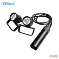 Professional led scuba rechargeable high power canister light
