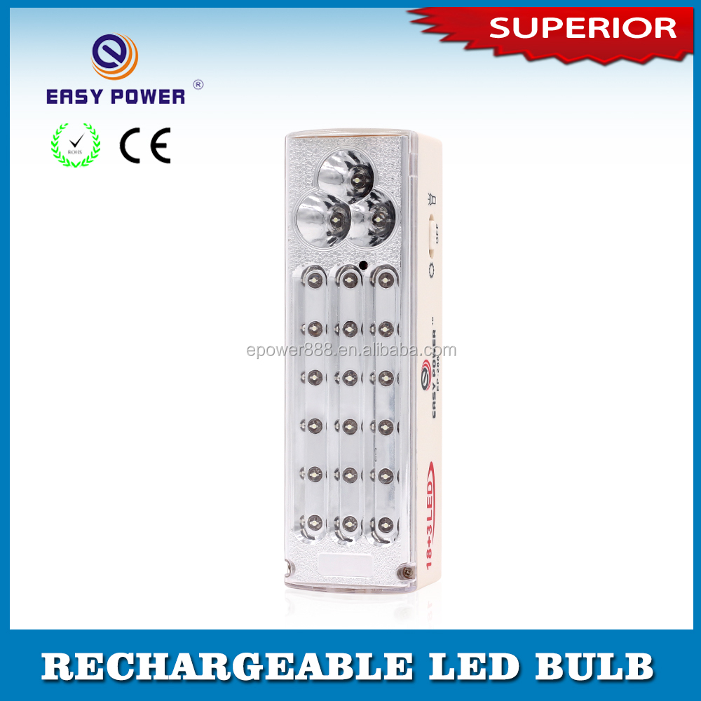 Factory Price High Power Battery Operated Rechargeable LED Emergency Light