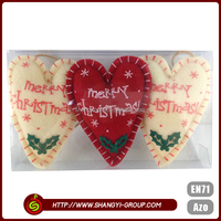 China hot sale heart shaped lowes christmas inflatable decoration