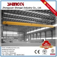 Single Beam Overhead Crane Workshop Electric Hoist Bridge Crane Equipment