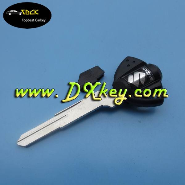 Factory sale Suzuki motorcycle key blank in black YH35R blade for car and motorcycle