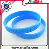 Hot sale logo debossed hip hop silicone wristbands