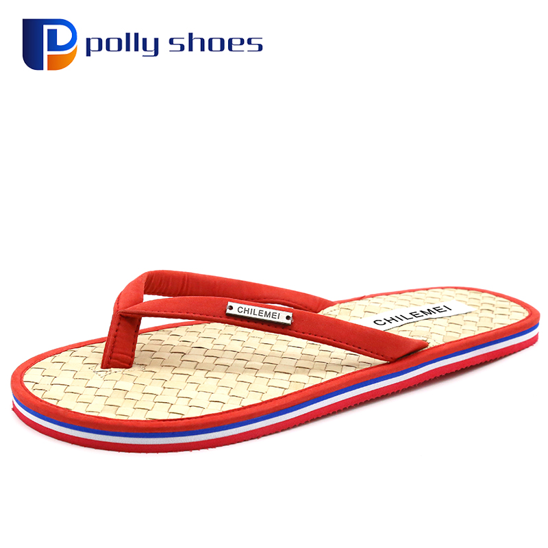 eco friendly nature health summer bamboo slippe flip flopr wholesale