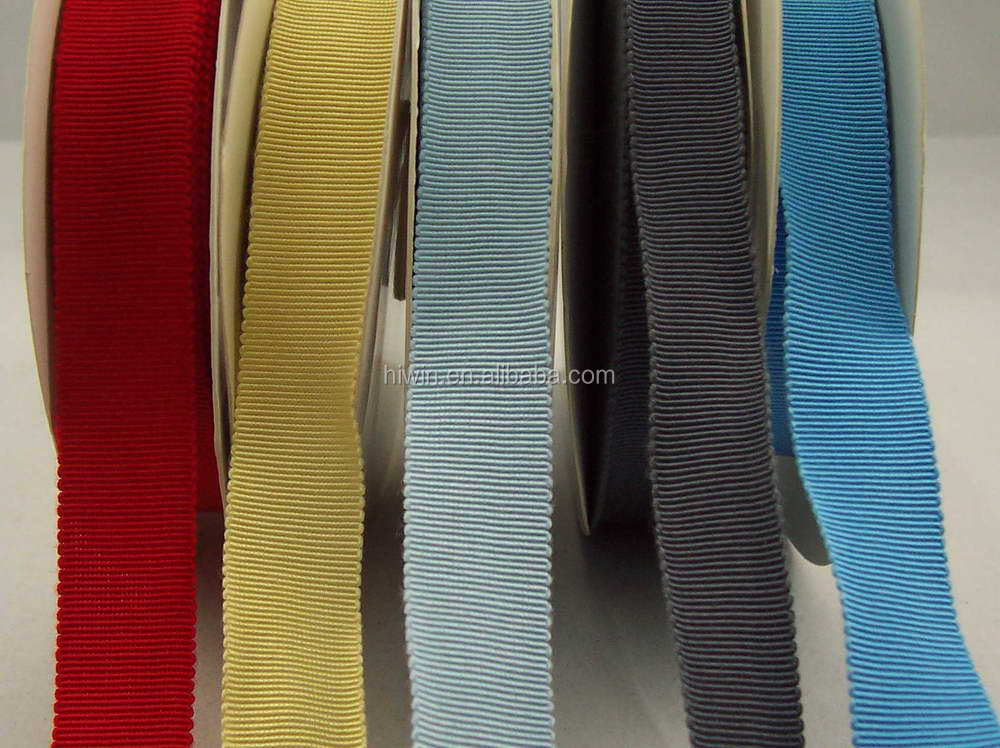 Soft Viscose Rayon cotton Grosgrain ribbon / hat ribbon Tape