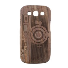 For Samsung Galaxy S3 Back Cover Wood Case for S3