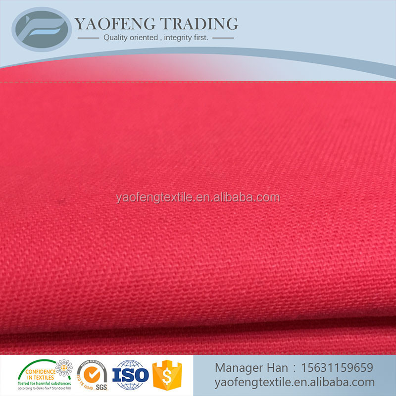 "Top quality 16s*16s 60*60 63"" plain woven dyed cotton fabric price kg wholesale"