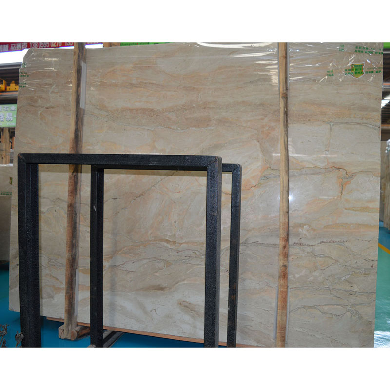 New product natural red vein marble slab price
