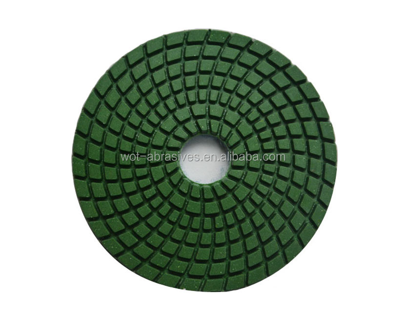 4 Inch Diamond Hand /Diamond Sponge Polishing Pads For Polishing