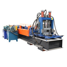 Hot sale C Z shape steel purlin roll form machine high quality lower price
