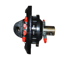 hydraulic rotator for timber trailer with crane