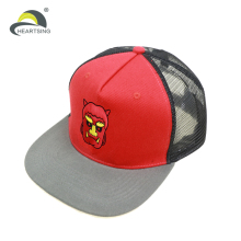 Wholesale Trucker Hat 3D Embroidery Logo Custom Trucker Cap Mesh Snapback Cap