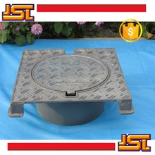Sand cast Ductile iron Manhole cover round frame round or square