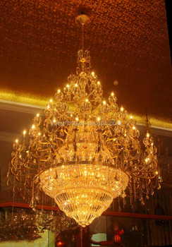 Hotsell project lamp hotel lobby chandelier crystal light
