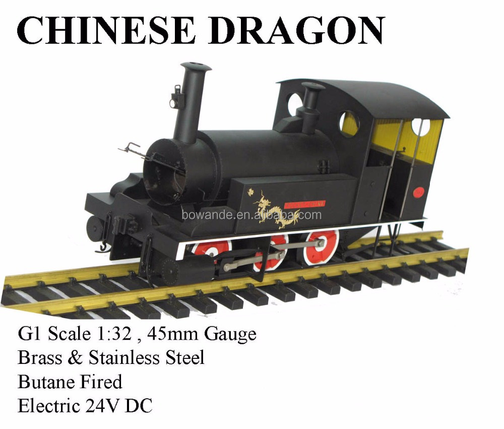 Chinese Dragon , 1:20.3 Electric locomotive (Brass made)