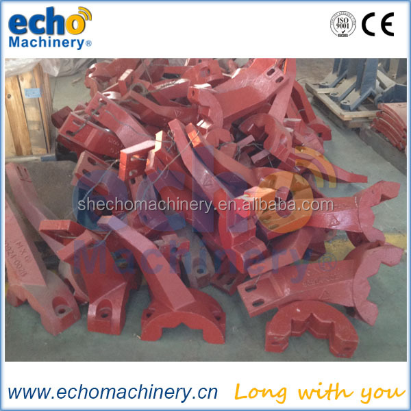 concrete batching plant equipment machine mixer casting spare wear parts