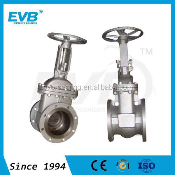 API 600 6 Inch Rising Stem Cast Steel Gate Valve