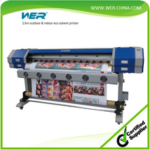 indoor and outdoor media printing machine textile sublimation printer eco solvent printing machine, textile printer