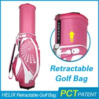HELIX New Style High Quality golf travel bag with wheels with rain cover