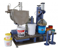 PF Automatic 20kg Weighing Filling Capping Machine