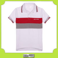 silk screen printed men's wear polo shirt sublimation for tops and tees