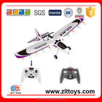 Flying wing 2.4G 4Channel rc airplane glider with light