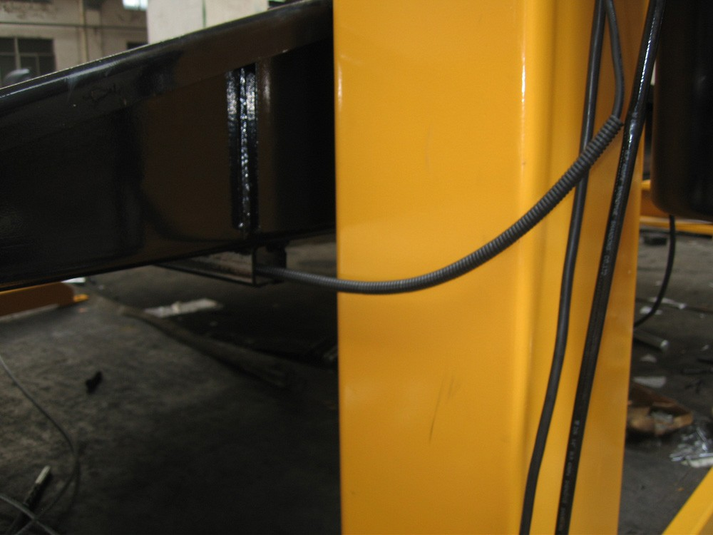 hydraulic adjustable electric two post car parking lift