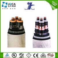 SWA armored XLPE power cable Cooper conductor YJV22 electric wire color code