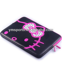 "New arrival Fashion For Hello Kitty PU laptop bag 12"" laptop bag case for women"
