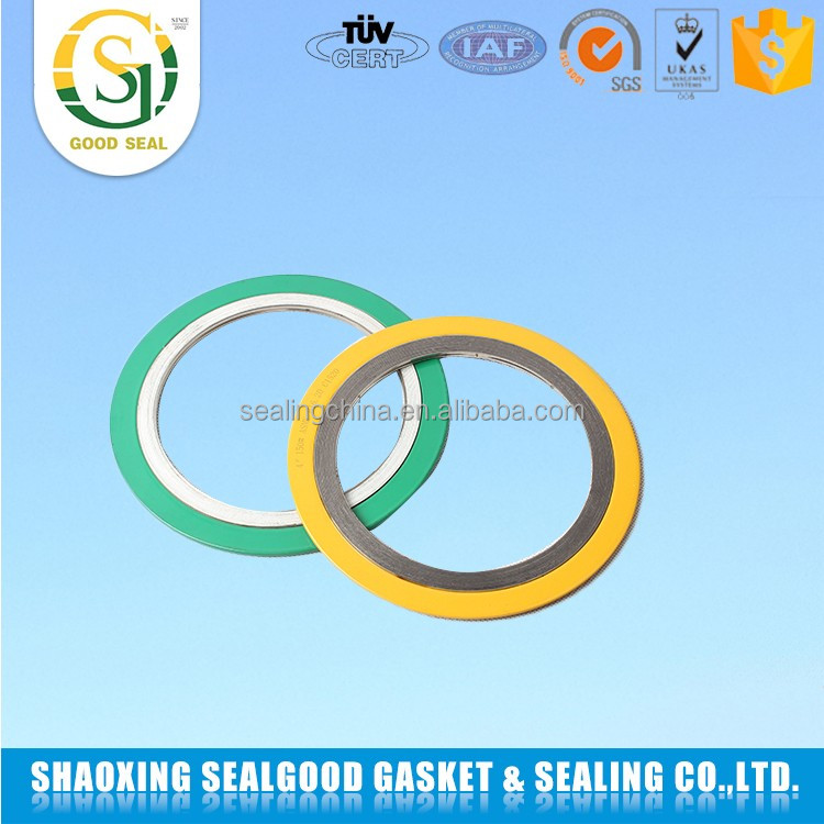 Alibaba China with outer ring spiral wound flexitalic gasket
