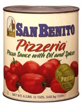 Sauce, Pizza Prepared -San Benito