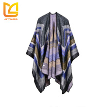 2017 Open front turkish pashmina sleeves cardigan kashmir shawl
