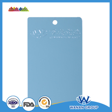 flat gloss light blue polyester resin Industrial powder coating WA-4922