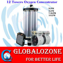PSA 12 towers oxygen concentrator spare parts zeolite molecular sieve oxygenerator unit