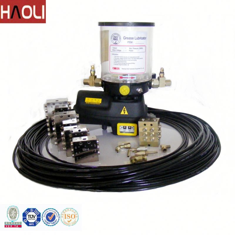 China made forland dump truck used electric grease pump for lub oil