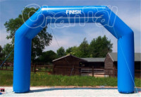 2016 new arrival advertising inflatable finish line arch for sale