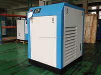 5.5kw Small type belt driven oil injected air compressor with low noise