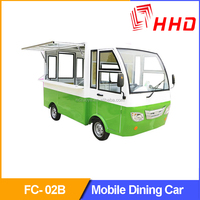 China Electric Car Mobile Breakfast Eat Multi-functional Popular Convenient Dining Car For Sales