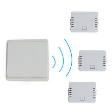 Self-powered 1 gang 2 or 3way remote control wireless wall switch