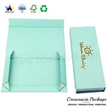 Crownwin small cardboard paper folding gift box packing