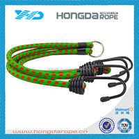 10mm green elastic cord with metal barb end
