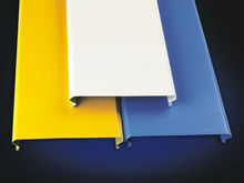 insulated cladding U strip ceiling price