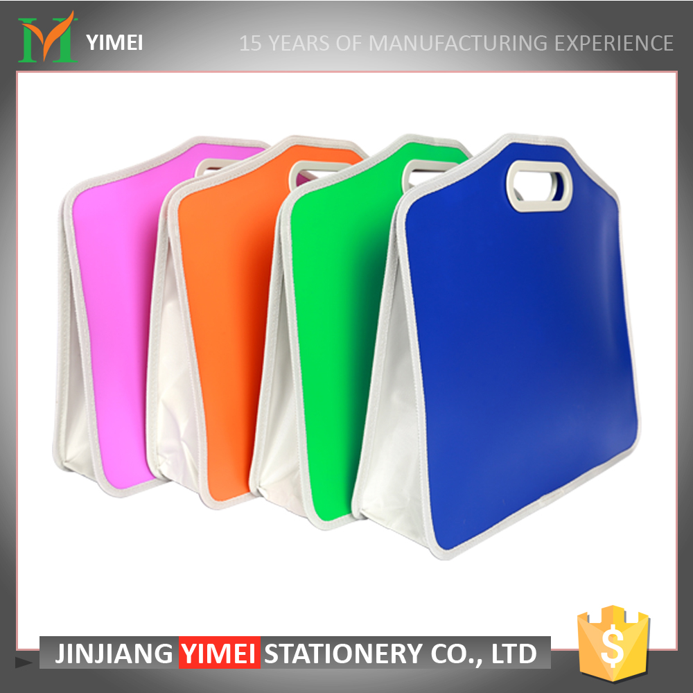 recycle simple design high quality portfolio case for wholesale with different color