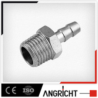 B416 China supplier Brass Barb Hose Connector, Garden Hose Fitting