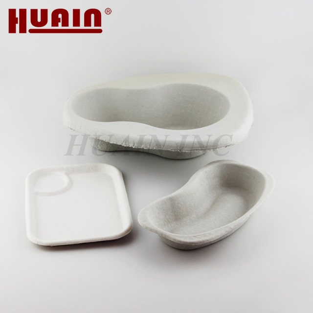 Recycled Pulp Medical Pulp Moulded Bedpans And Urinals