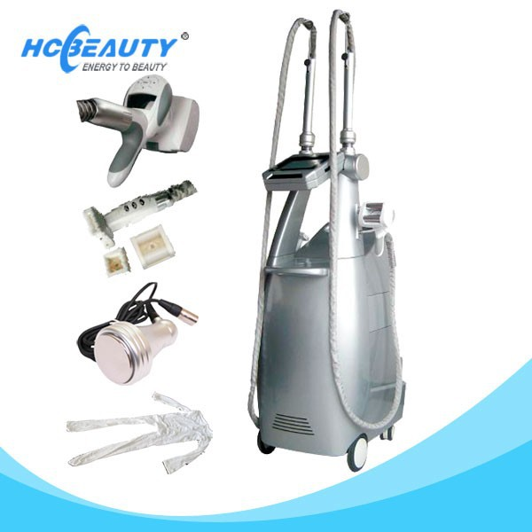 Professional Cavitation Ultrasound+ Vacuum Suction+LED light Therapy M8+2